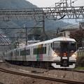 E257系特急かいじ 中央本線四方津~上野原