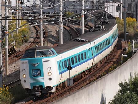 381系特急くろしお 大阪環状線新今宮~今宮