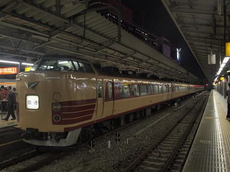 189系回送  中央本線新宿駅03