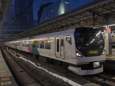 E257系特急あずさ 中央本線新宿駅01