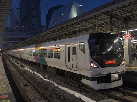 E257系特急あずさ 中央本線新宿駅02
