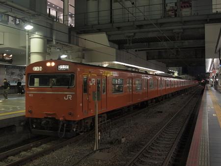 103系普通  大阪環状線大阪駅01