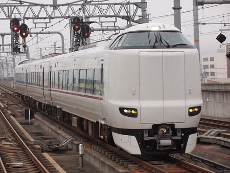 287系特急こうのとり 山陰本線福知山駅