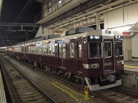 阪急6300系普通 阪急嵐山線桂駅03