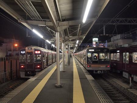 淡路駅での並び01