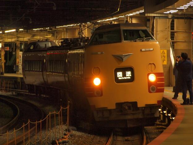 381系特急こうのとり   東海道本線新大阪駅08