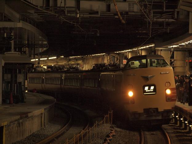 381系特急こうのとり 東海道本線新大阪駅01