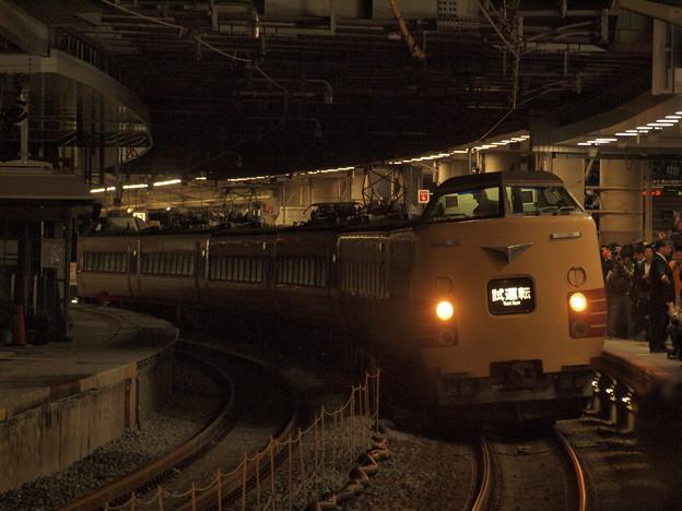 381系特急こうのとり 東海道本線新大阪駅02