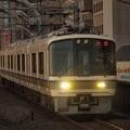 221系普通 山陰本線二条駅