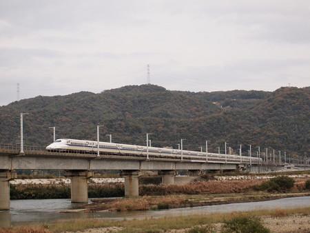 N700系のぞみ  山陽新幹線相生~岡山05