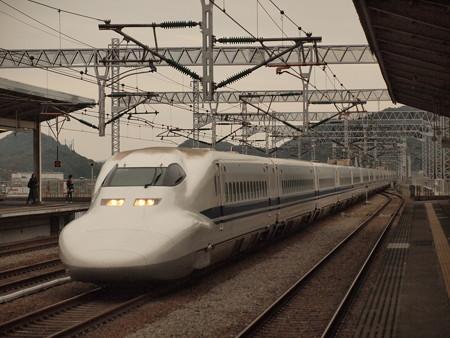 700系のぞみ 山陽新幹線相生駅