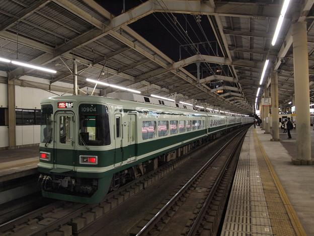 南海10000系特急サザン   南海本線天下茶屋駅04
