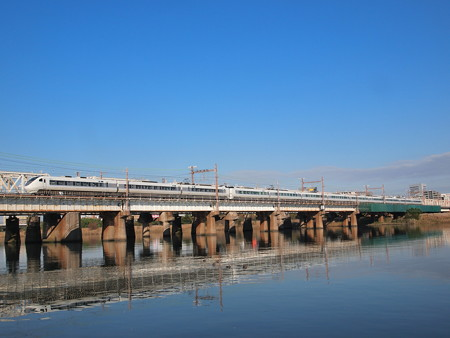 681系特急サンダーバード 東海道本線新大阪~大阪