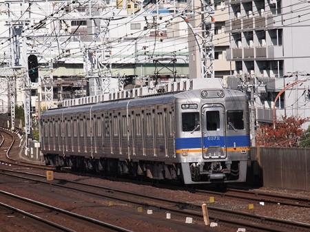南海6300系各停 南海高野線新今宮駅