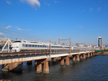 683系特急サンダーバード 東海道本線新大阪~大阪