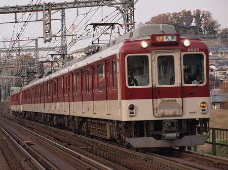 近鉄2600系急行  近鉄大阪線安堂~国分03
