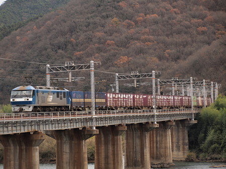 EF210貨物 山陽本線熊山~万富