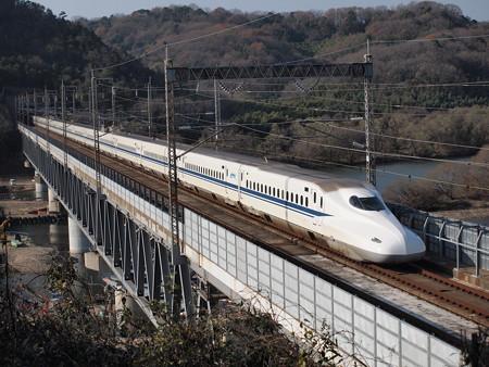 N700系のぞみ 山陽新幹線新倉敷~岡山02