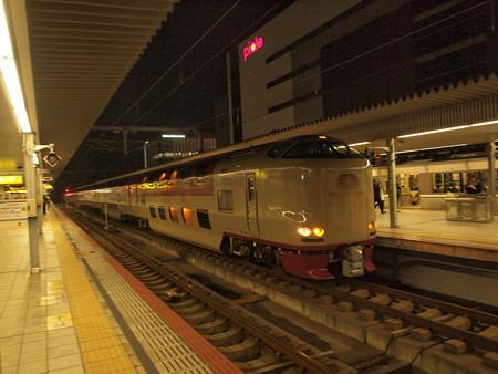 285系サンライズ出雲 山陽本線姫路駅03