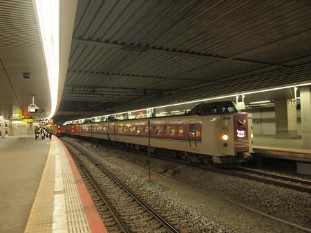 381系特急やくも 山陽本線岡山駅05
