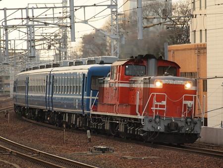 DD51 網干訓練  山陽本線明石駅01