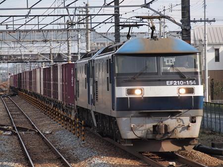 EF210貨物 山陽本線宝殿駅