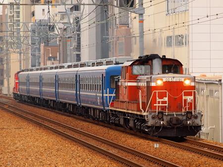 DD51 網干訓練  東海道本線さくら夙川駅01