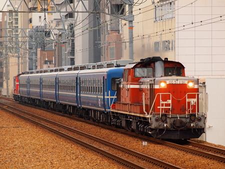 DD51 網干訓練  東海道本線さくら夙川駅02