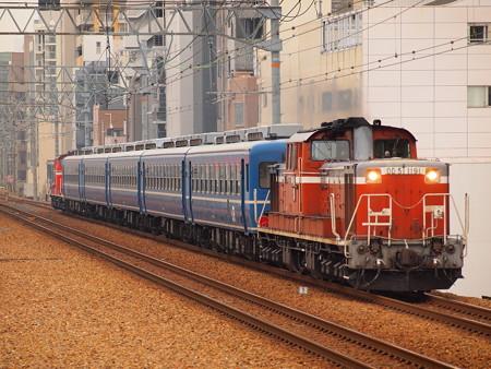 DD51 網干訓練  東海道本線さくら夙川駅03