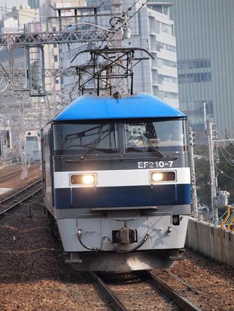 EF210貨物 東海道本線元町駅