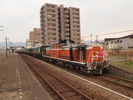 DD51 トワイライトエクスプレス 山陽本線東萩駅01