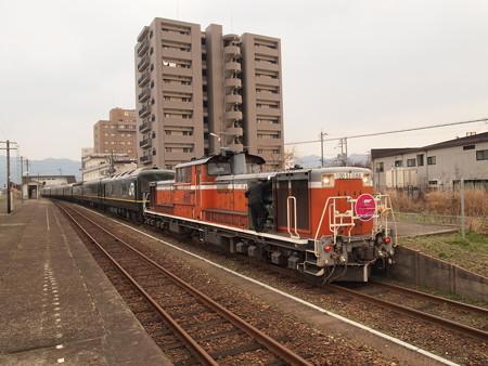 DD51 トワイライトエクスプレス 山陽本線東萩駅02