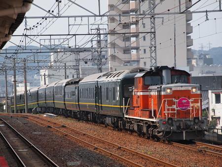 DD51 トワイライトエクスプレス 山陽本線下関駅02