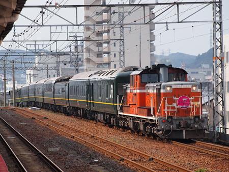 DD51 トワイライトエクスプレス 山陽本線下関駅03