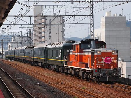 DD51 トワイライトエクスプレス 山陽本線下関駅04