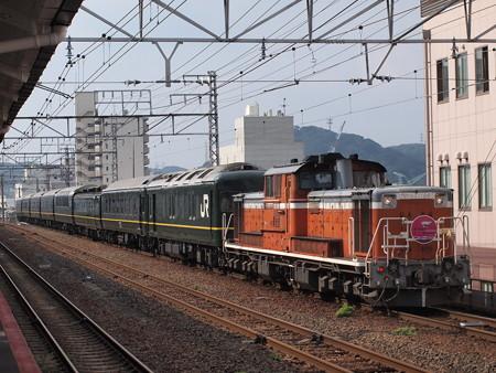 DD51 トワイライトエクスプレス 山陽本線下関駅06