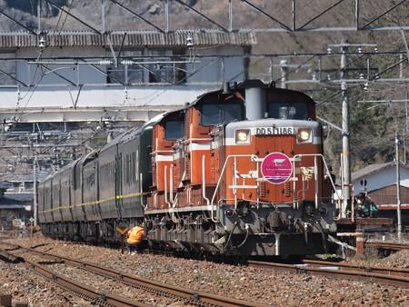 DD51 トワイライトエクスプレス 伯備線美袋~日羽02