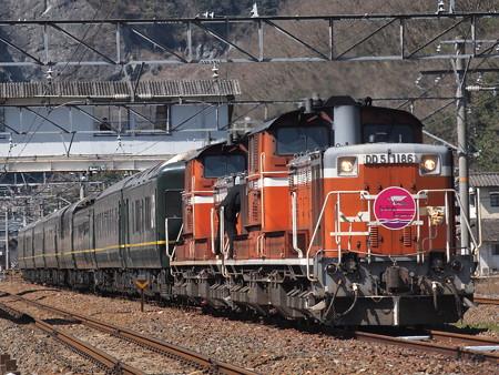 DD51 トワイライトエクスプレス 伯備線美袋~日羽04