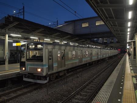 205系普通 相模線橋本駅