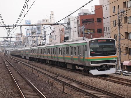 E231系快速  湘南新宿ライン赤羽~池袋 01