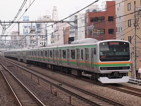 E231系特別快速  湘南新宿ライン赤羽~池袋 03