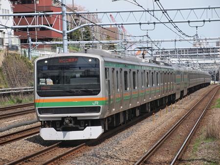 E231系普通 東海道本線川崎~横浜01