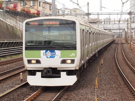 E231系普通  山手線鶯谷駅02