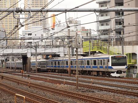 E531系普通 常磐線日暮里~上野