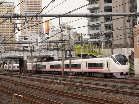 E657系特急ときわ 常磐線日暮里~上野