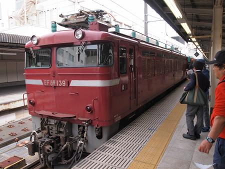 EF81 東北本線上野駅01