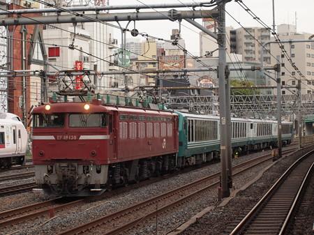 EF81 リゾートしらかみ回送 東北本線上野~尾久