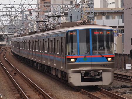 都営6300形急行 東急目黒線武蔵小杉駅