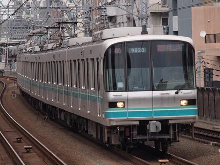 メトロ9000系急行 東急目黒線武蔵小杉駅