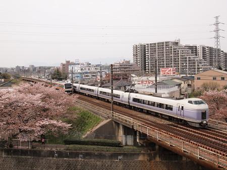 E351系特急スーパーあずさ 中央本線日野~立川01